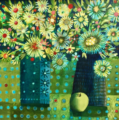 British Artist Este MacLEOD - The Green Apple