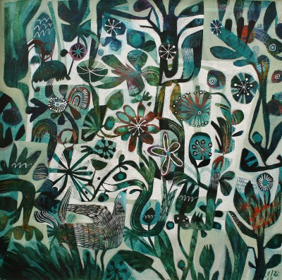 British Artist Este MacLEOD - Hiding Bird