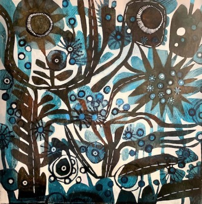 British Artist Este MacLEOD - Blue Star