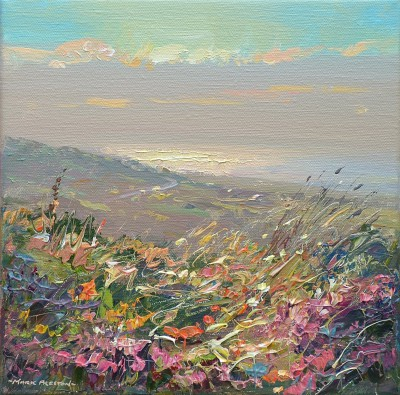 Mark PRESTON - Evening Light, Rosewall Hill