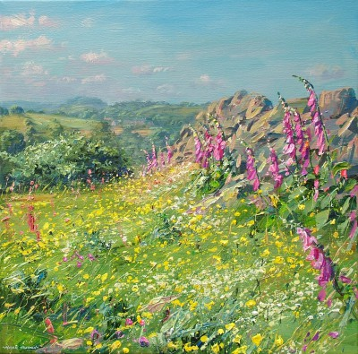 Mark PRESTON - Foxgloves, Ashleyhay