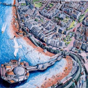 British Artist Francis Farmar - Brighton