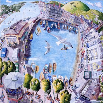 British Artist Francis Farmar - Dartmouth