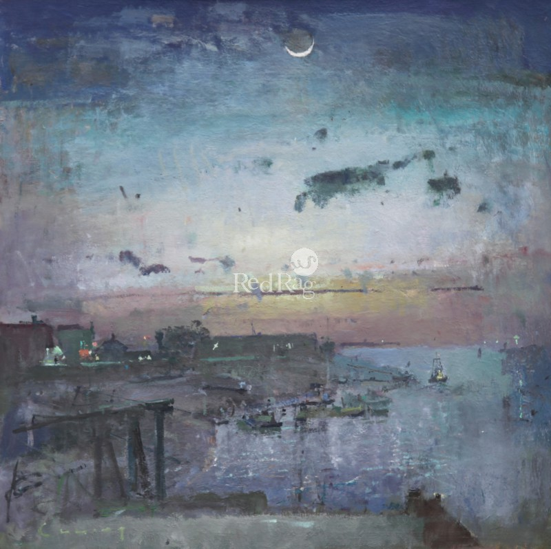 Fred CUMING - Crescent Moon, Rye Harbour