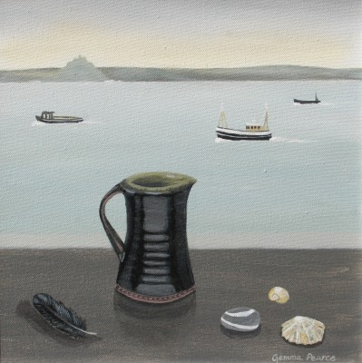 Gemma PEARCE - Leach Mug and Mounts Bay