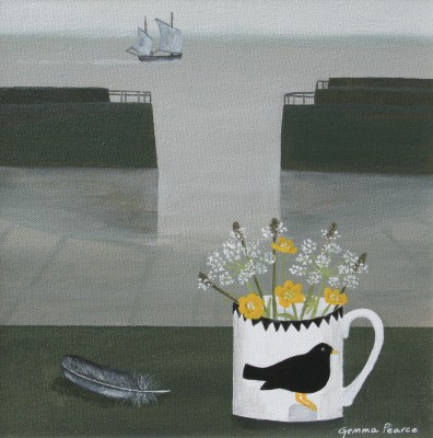 Mary Fedden Mug painting by artist Gemma PEARCE