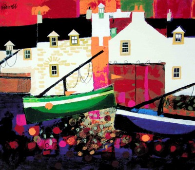Limited Edition Prints Artist George Birrell - Low Tide