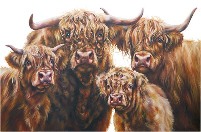 Limited Edition Prints Artist Georgina McMaster - Highland Clan