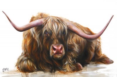 Limited Edition Prints Artist Georgina McMaster - Jock
