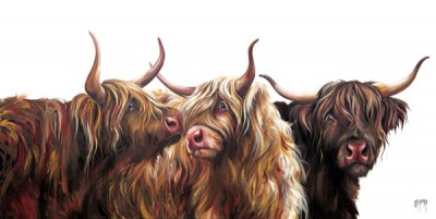 Limited Edition Prints Artist Georgina McMaster - The Three Musketeers