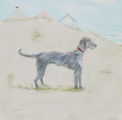 British Artist Hannah COLE - Lurcher