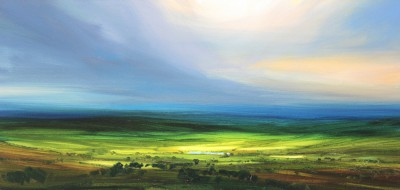 Late Afternoon Sun painting by artist Harry BRIOCHE