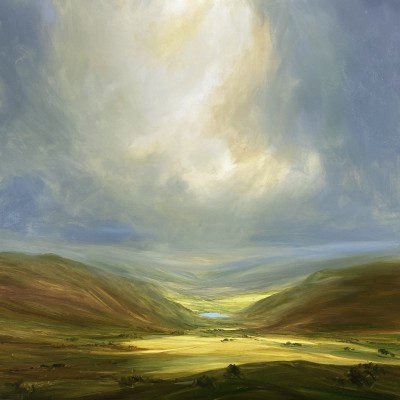British Artist Harry BRIOCHE - Into the Valley