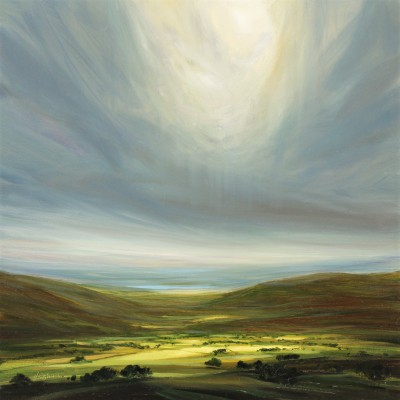 British Artist Harry BRIOCHE - Heavenly Light
