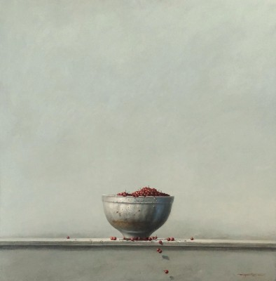 British Artist Bryan HANLON - Bowl and Berries