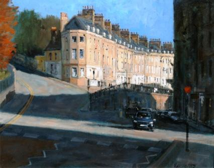Ian HARGREAVES - London Road Morning Sun