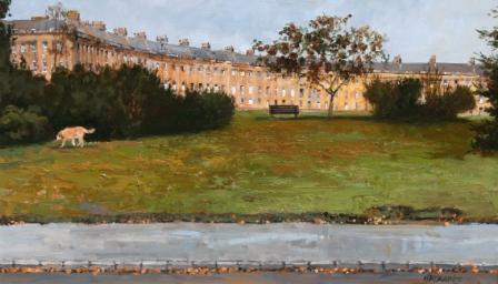 Ian HARGREAVES - Royal Crescent Winter