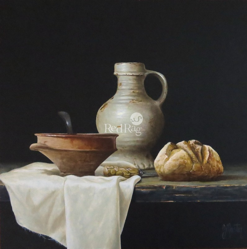 Ian MASTIN - Earthenware with Bread