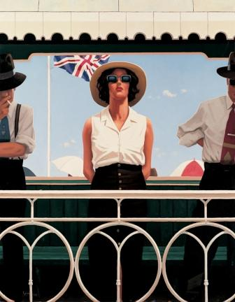 Limited Edition Prints Artist Jack Vettriano - Bird On The Wire