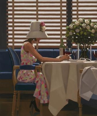 Limited Edition Prints Artist Jack Vettriano - Days of Wine and Roses