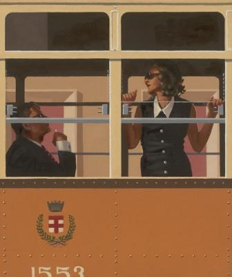 Limited Edition Prints Artist Jack Vettriano - The Look Of Love
