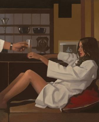 Limited Edition Prints Artist Jack Vettriano - Man Of Mystery