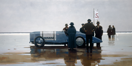 Limited Edition Prints Artist Jack Vettriano - Pendine Beach