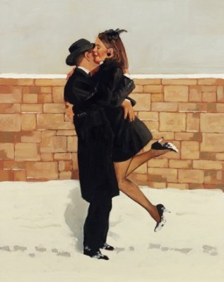 Limited Edition Prints Artist Jack Vettriano - Love Story