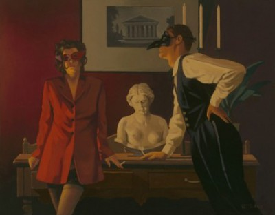 Limited Edition Prints Artist Jack Vettriano - The Sparrow and the Hawk