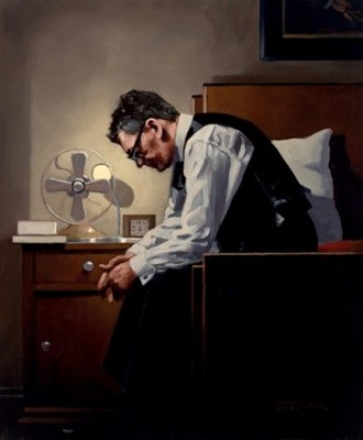 Limited Edition Prints Artist Jack Vettriano - The Weight
