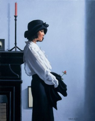 Limited Edition Prints Artist Jack Vettriano - Valentine Rose