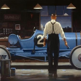 Limited Edition Prints Artist Jack Vettriano - Birth of a Dream