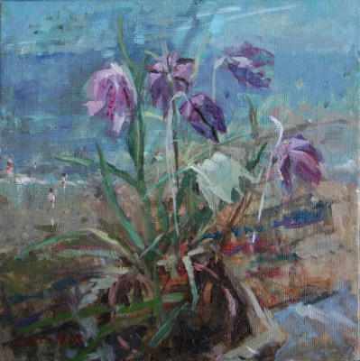 Jane CORSELLIS - Spring Window by the Sea