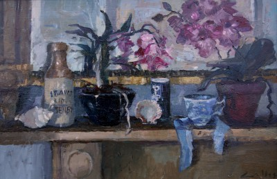 Jane CORSELLIS - Seaside Mantelpiece