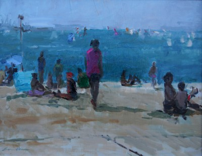 Jane CORSELLIS - Summer on the Beach