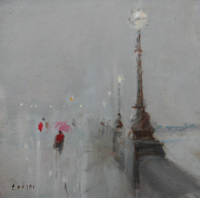Janet LEDGER - Rain, Chelsea Embankment