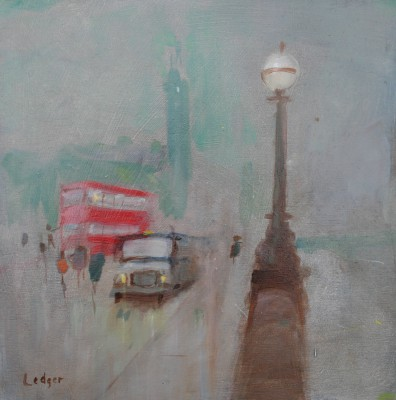 British Artist Janet LEDGER - London Mist and Rain