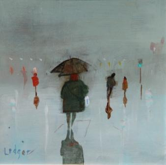 Janet LEDGER - Wet Night at Walker, Newcastle