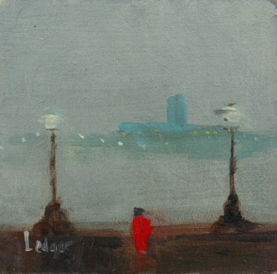 British Artist Janet LEDGER - Across to Tate Modern