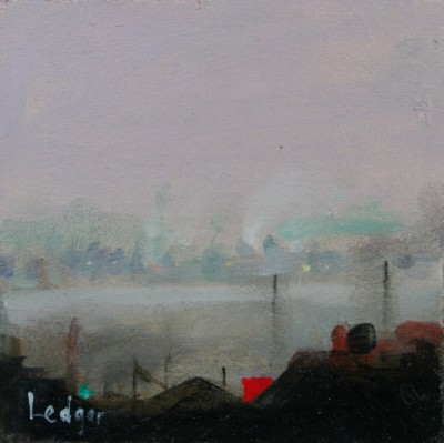British Artist Janet LEDGER - Estuary Greenhithe