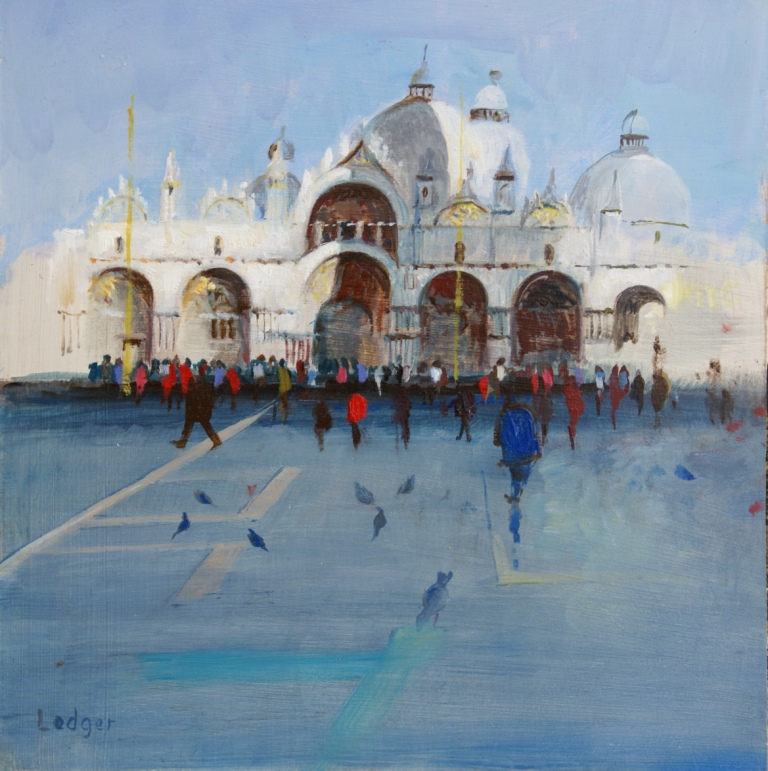 Janet LEDGER - Summer Sunday Venice