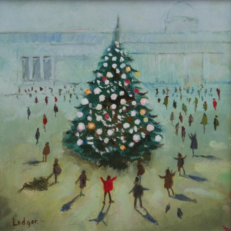 Janet LEDGER - Christmas Tree, Trafalgar Square