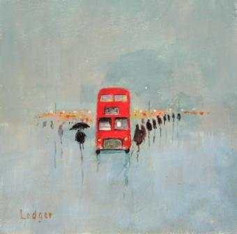 Janet LEDGER - Bus in Rain