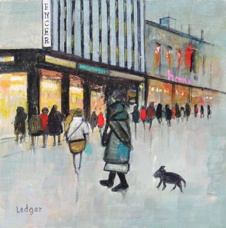 Janet LEDGER - Tramp in Northumberland Street