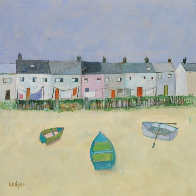 Limited Edition Prints Artist Janet Ledger - Kippers and Cottages
