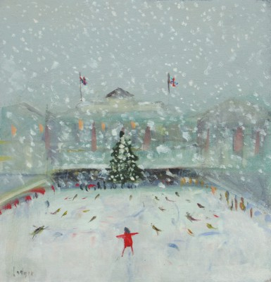 Janet LEDGER - Skaters, Somerset House