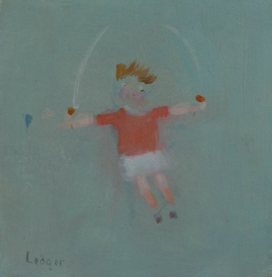 British Artist Janet LEDGER - Skipping