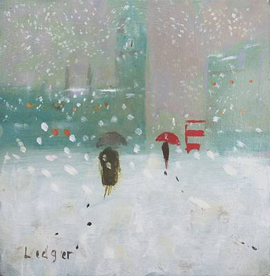 Janet LEDGER - Snow at Noon