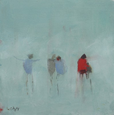 Janet LEDGER - Wet Day, Ryde