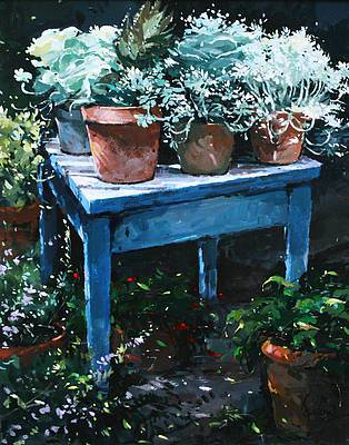 Jeremy BARLOW - Garden Table, Lacoste